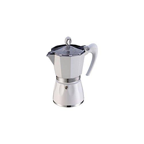 G.A.T. 2790000090 Espressokocher bereitet bis zu 6 Tassen, weiß