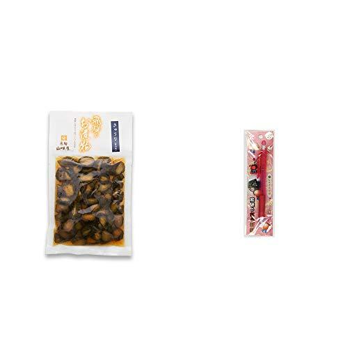 [2点セット] 飛騨山味屋 きゅうり醤油漬(150g) ・さるぼぼ 癒しシャープペン 【ピンク】