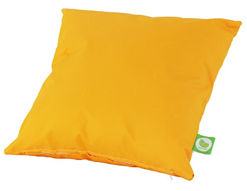 Waterproof Outdoor Garden Furniture Seat Cushion Filled with Pad By Bean Lazy - Yellow