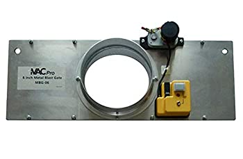 iVAC MBG-04-NA 4   Metal Blast Gate for Dust Collection