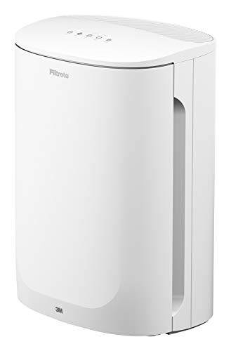 Filtrete Air Purifier, Small/Medium Room True HEPA Filter, Captures 99.97% of Airborne particles such as Smoke, Dust, Pollen, Bacteria, Virus for 150 Sq. Ft., Office, Bedroom, Kitchen and more