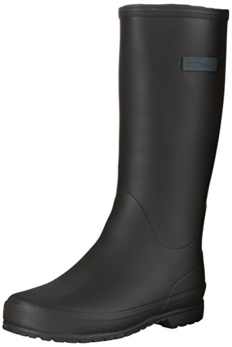 Tretorn Women's Kelly Rain Boot, Black, 42 M EU/11 M US
