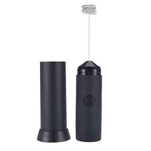 Taidda Espumador eléctrico, Rompe huevo eléctrico leche casera café espumador mezclador de jugo yogur licuadora herramienta para hornear para cocina panadería tienda de pos