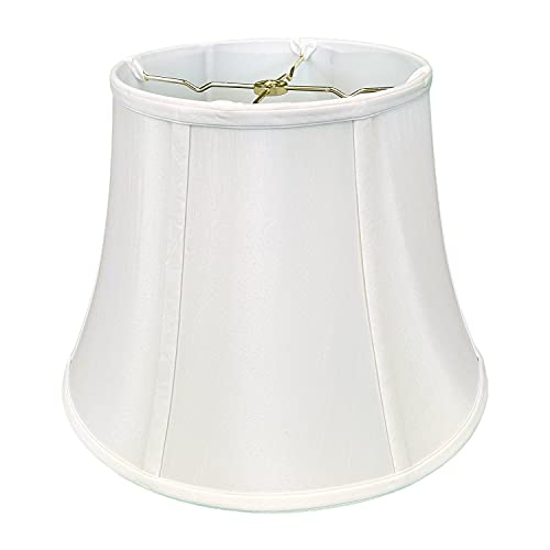 Royal Designs Modified Bell Lamp Shade - White - 10 x 16 x 12.5
