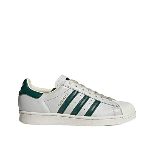 adidas Superstar, Zapatillas Deportivas Hombre, Off White Collegiate Green Off White, 40 EU