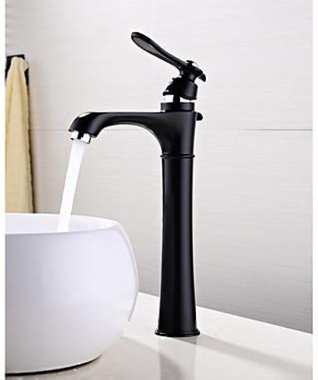 Waschbecken Wasserhahn - weit verbreitet New Design Malerei schwarz Deck Mounted Single Handle Ein Loch  Standard