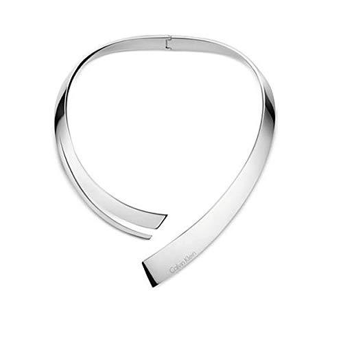 Preisvergleich Produktbild Calvin Klein Damen-Halsreife Edelstahl KJ3UMJ000100