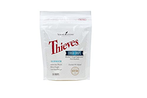 Young Living Thieves Essential Oil Infused Cough...