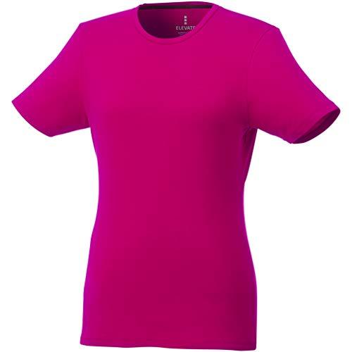 Elevate - Camiseta de Manga Corta Balfour para Mujer señora (2XL) (Rosa)