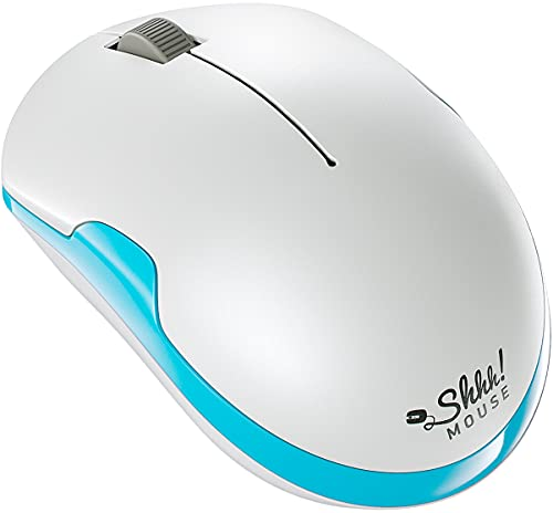 ShhhMouse Wireless Silent Noiseless Clickless Mobile Optical...