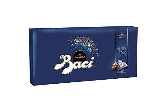 Perugina Baci Classic Dark Chocolate Hazelnut, 21-pc Box 10.5 oz.