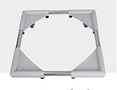 Multi-Functional Movable Adjustable Base For Dryer, Washing Machine And Refrigerator Washing Machine Floor Trays