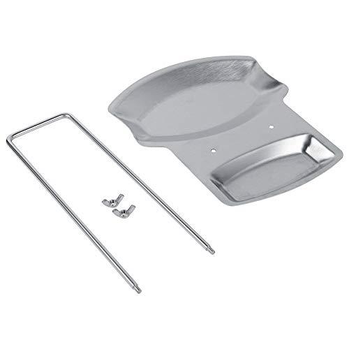 Pot Deksel Rek - KSTEE 1Pc Home Keuken RVS Lepel Houder Pot Deksel Plank Koken Rek Pan Cover Stand Hot
