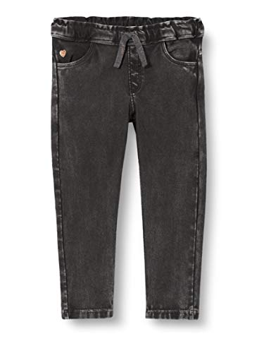 Noppies Baby-Mädchen G Regular fit Pants Sachse Hose, Dark Grey Wash-P050, 86