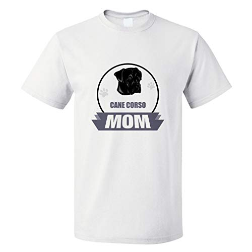Dog breed bark Unisex T-Shirt Dog silhouette Cane Corso barking guide