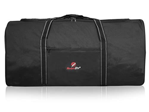 Roamlite extra grote reistas - reistas voor op reis fitness studio sporttas - zwart - 76 x 34 x 37 cm - 0,8 kg, 100 liter XL XXL Duffle Bag - RL30
