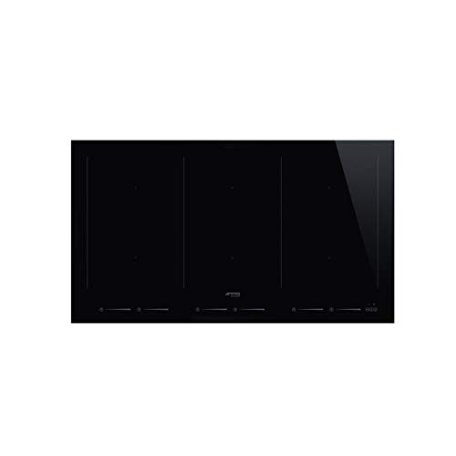 SMEG SIM693WLD kookplaat, inductie, 2100 W, glas