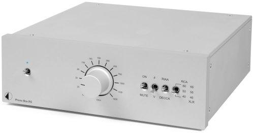 Pro-Ject Phono Box RS Highend Phono Vorverstärker silber