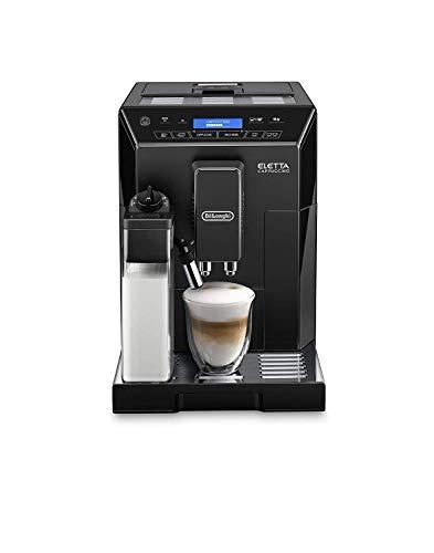 Delonghi ECAM 44.660.B Eletta Cappuccino w pełni automatyczny ekspres do kawy, wysoki połysk, czarny