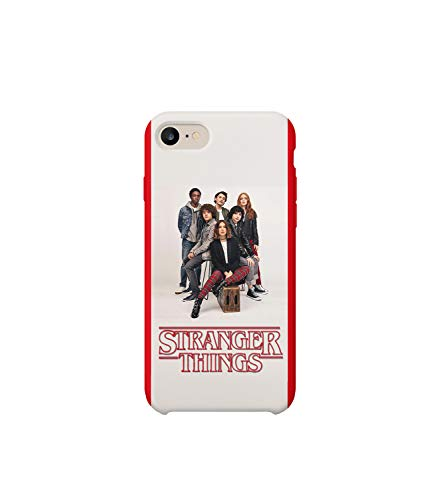 Cast Members Stranger Eleven Demogorgon Things_MA0691 for iPhone 7 8 Protective Phone Mobile Smartphone Case Cover Hard Plastic Funny Gift Christmas