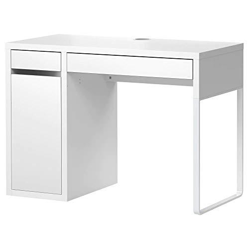 IKEA MICKE - Escritorio de oficina, color blanco, 105 x 50 cm