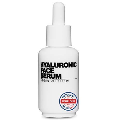 NEU: Hyaluron Face Serum - VERONA POOTH x PHC - Hyaluronsäure Serum hochdosiert - mit SEHR GUT ausgezeichnet - bewiesene Anti Aging Wirkung gegen Falten im Gesicht & Haut - vegan