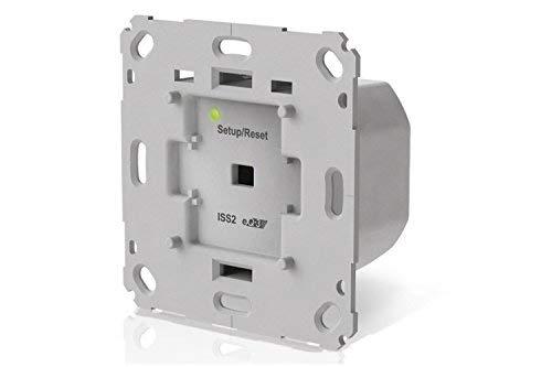 innogy SE Smart Home Unterputzlichtschalter / Funk Lichtschalter, unsichtbar, per Funk steuerbar, Ausschalt-Timer-Funktion für z.B. Treppenhäuser, Wippadapter, vorhandene Schalter nutzbar, 10267407
