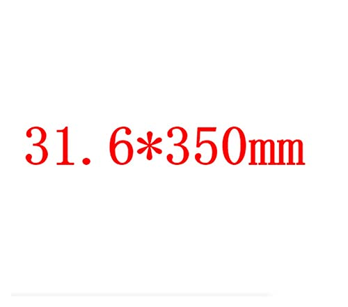 liangzai Tija de sillín de bicicleta de montaña de carbono con fibra de carbono completa para piezas MTB 27.2/30.8/31.6 x 350/400 mm hilarity (color: 31.6 x 350 mm)