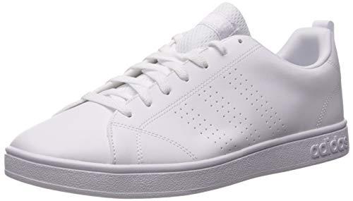 adidas VS Advantage Clean - Zapatillas de tenis para hombre, Blanco (Blanco/blanco/blanco), 46.5 EU