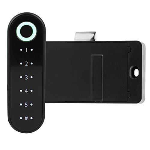 Alvinlite Cerradura de cajón Inteligente Cerradura de Huella Digital Cerradura Segura para el hogar para gabinetes Cajones Cajas de Almacenamiento