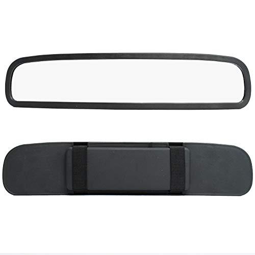 315mm x 60mm binnenspiegel spiegel spiegel met elastische panoramaspiegel grote extra spiegel binnen- achteruitkijkspiegel groot universeel