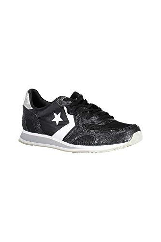 Converse 561304C Calzado Deportivo Mujer Nero Black/Black/White 37-½