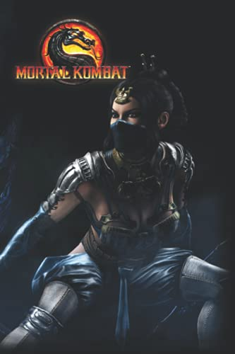 Mortal Kombat Notebook: 110 Wide Lined Pages - 6
