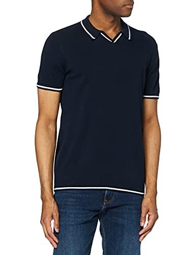 Marca Amazon - find. Jersey de Algodón Hombre, Azul (Navy), 3XL, Label: 3XL