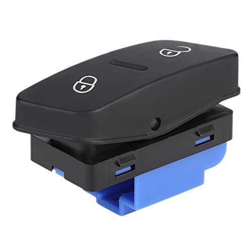 KIMISS Auto Deurvergrendeling Schakelaar, ABS Centrale Deurvergrendeling Schakelaar Controlling Knop Fit voor 5 MK5 1K0962125B
