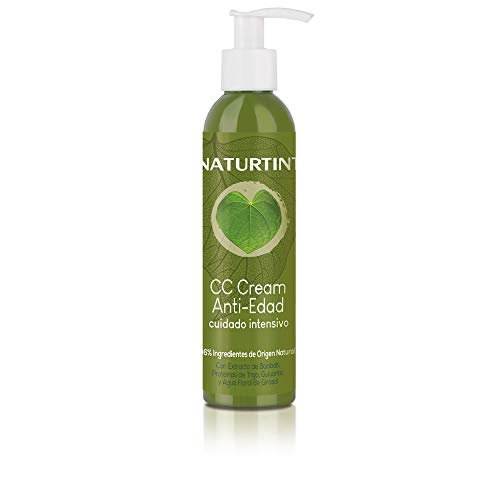 Naturtint CC Cream Eco Efecto Antiedad sin Aclarado, 200 ml