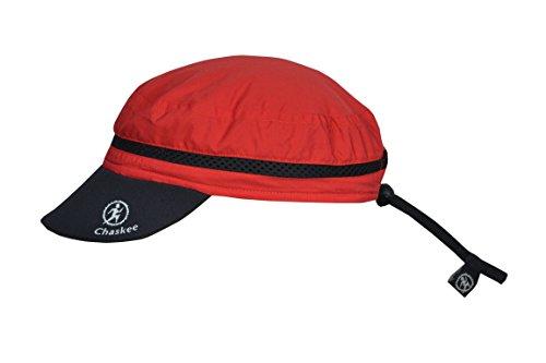 Chaskee Walking Cap Outdoorcap mit UV Schutz rot