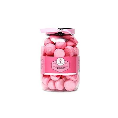 mallow tree strawberry flavoured pink marshmallow balls in a gift jar, 600 g Mallow Tree Strawberry Flavoured Pink Marshmallow Balls in a Gift jar, 600 g 317U5SQTc1L