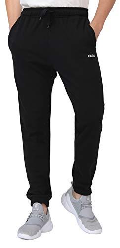 CAMEL CROWN Herren Jogginghose Hohe Taille Sporthose Sweathose Freizeit Hose Baumwolle Lang Damenhosen für Jogging Laufen Fitness Traininghose mit Taschen