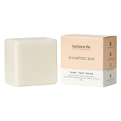 Be.Bare Life Tame That Mane (Cacao Butter & Coconut) Shampoo Bar