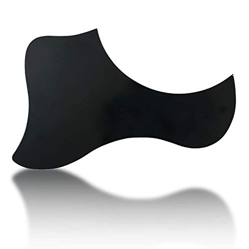 Ogquaton Gitarren-Schlagbrett-Schutz Folk Acoustic Guitar Sweeping String Anti-Gitarren-Schild Ornament Scratch Protection Panel Kreativ und nützlich