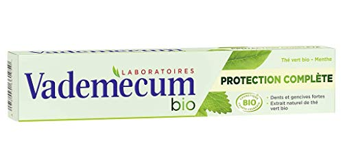 Vademecum Bio-Zahnpasta Schutz complate tha © Organic Green Mint 75ml (Satz 4) 1