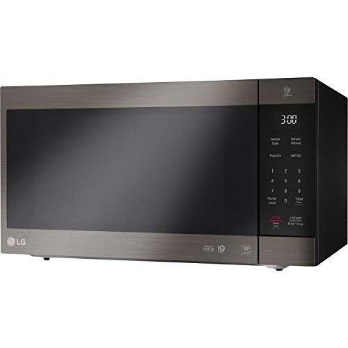 LG 2.0 Cu. Ft. NeoChef Countertop Microwave (LMC2075BD) Stainless Steel/Black (Renewed)