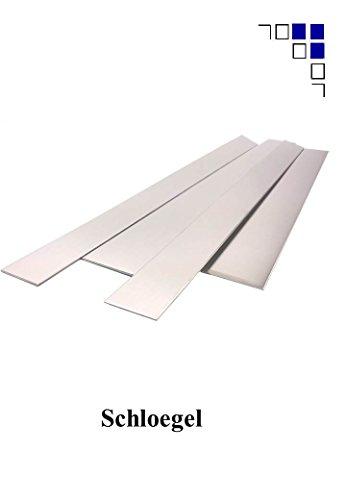Blechstreifen, Alublechstreifen bis1500mm Länge 1+1,5+2mm Alu (Alu 1mm 60x1500)