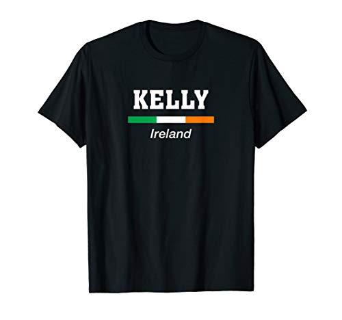 Kelly Irish Name Ireland Flag Eire T-Shirt