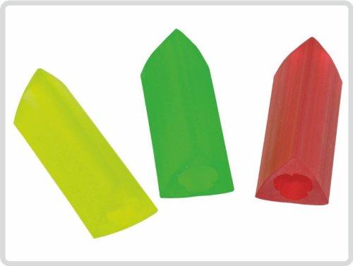 Schreibgriffe Schreibgriff, dreieckig 3 Stück, bunt *Top-Qualität zum Top-Preis*