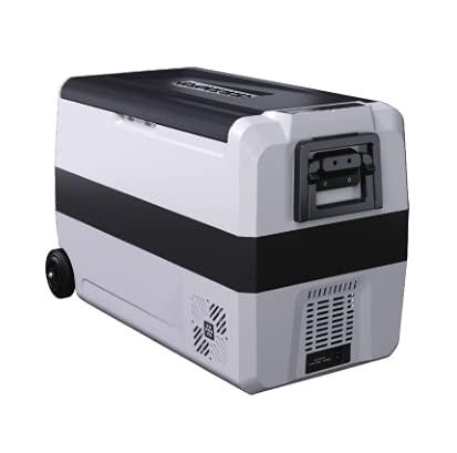YUQIYU 50L AC DC12/ 24V Coche Refrigerador Camping Picnic Picnic al aire libre Mini refrigerador Refrigerador Caja Deep Congelador Viajes a domicilio (Color Name : 50Liters)
