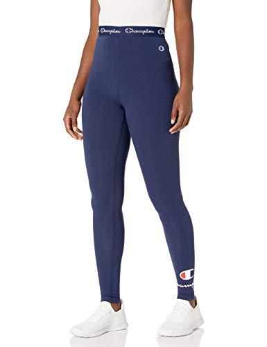 Champion Womens Authentic Leggings Athletic Navy S