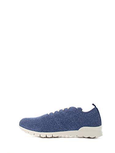 Kiton Sneakers in Rete da Uomo Bluette,USSKDOTN008190100