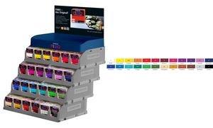 Staedtler – Fimo professioneel – verkoopstandaard 192 brooden modelleermassa 85 g in 24 kleuren gesorteerd